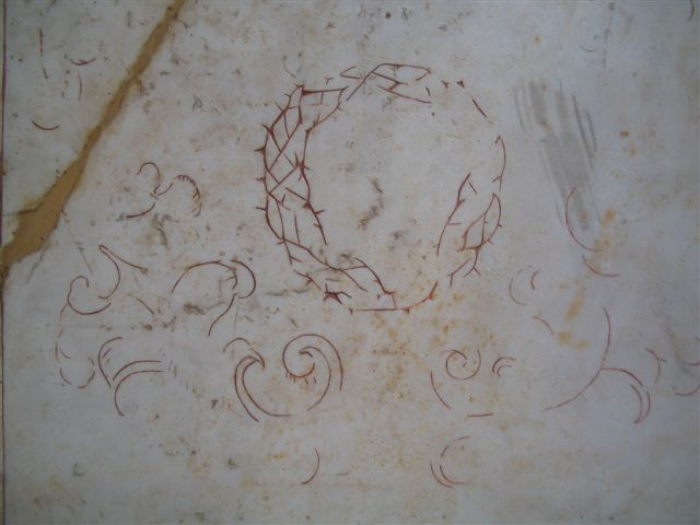 inscription in marble