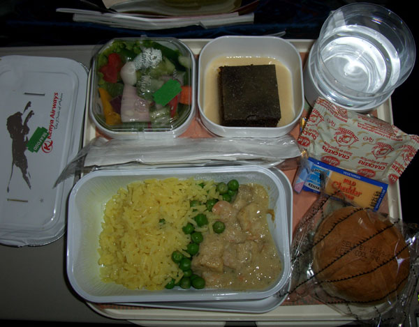 Kenya Air Food