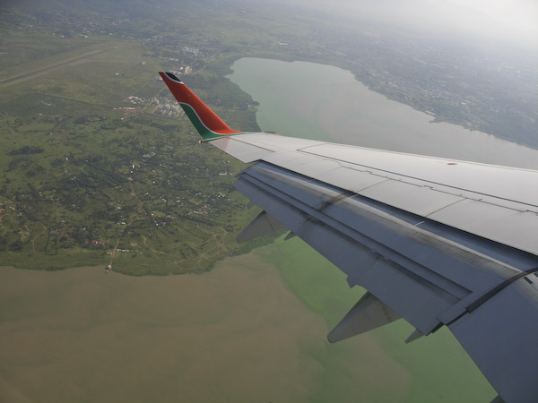 Kisumu from the air