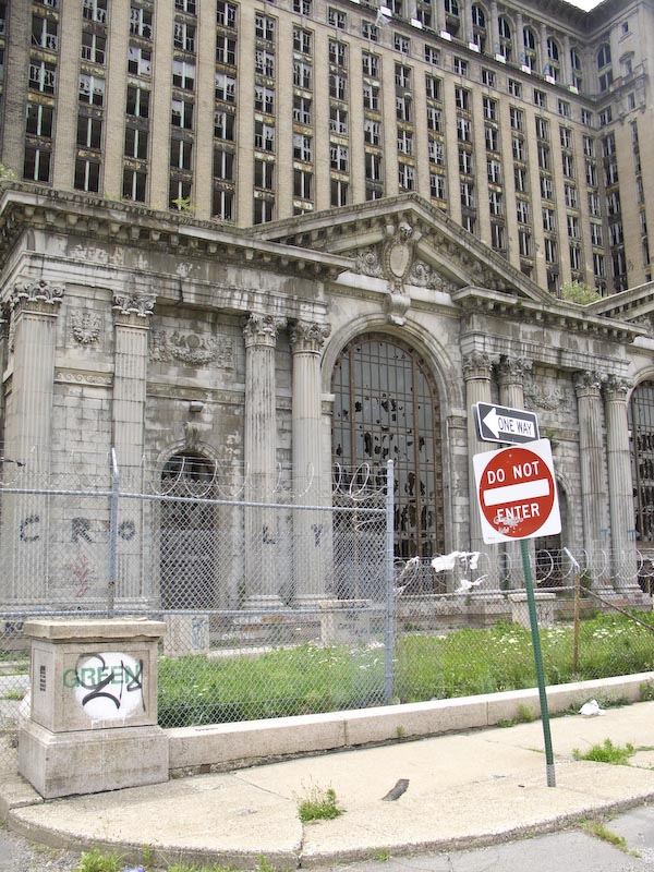 old Train Station in Detroit