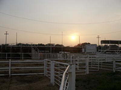 Rodeo grounds in Vinitas